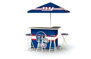 New York Giants NFL Portable Bar with Bar Stools  Sports Fan Tire And Wheel Covers  Sports & Outdoors
