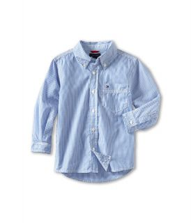Tommy Hilfiger Kids Tommy Stripe Shirt (Toddler/Little Kids)