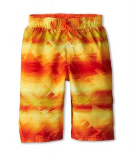 Nike Kids Hyper Color Volley Short Boys Swimwear (Brown)