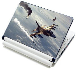 "Meffort Inc� 15 15.6 Inch Laptop Notebook Skin Sticker Cover Art Decal   Fits Laptop Size of 13"" to 16.5"" (Included 2 Wrist Pad) (Fighter Jet Missile) Computers & Accessories"