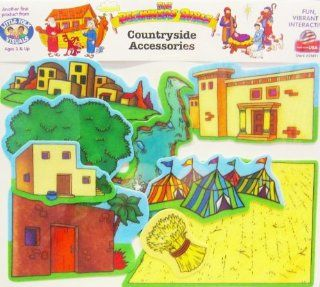 Beginners Bible Countryside Flannelboard Accessories   Pre Cut Toys & Games