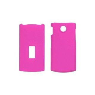 New Soft Touch Hot Pink Snap On Case for LG GD570 dLite Cell Phones & Accessories