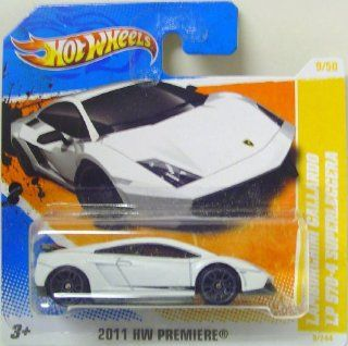 Hot Wheels 2011 HW Premiere Lamborghini Gallardo LP 570 4 Superleggera Collector #9 Toys & Games