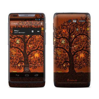 Tree Of Books Design Protective Decal Skin Sticker (High Gloss Coating) for Motorola Droid Razr M Cell Phone Cell Phones & Accessories