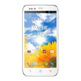 BLU Studio 5.0 S D570a Unlocked Dual Sim Phone with Quad Core 1.2GHz Processor, Android 4.1 JB, 5.0 inch IPS High Resolution Display, and 8MP Camera (White) Cell Phones & Accessories
