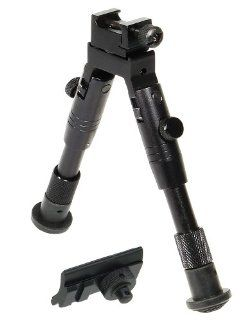 UTG Bipod, SWAT/Combat Profile, Adjustable Height  Gun Monopods Bipods And Accessories  Sports & Outdoors