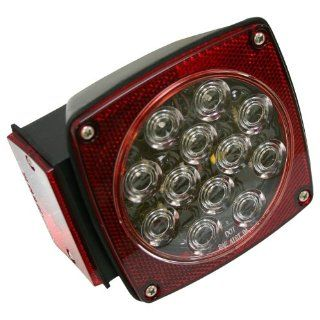 Blazer C583CR Clear Lens LED 7 Function Combo Trailer Stop/Tail/Turn Light 1 each Automotive