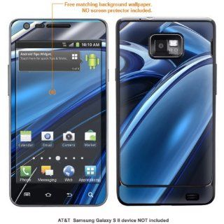 InvisibleDefenders Protective Decal Skin STICKER for Samsung Galaxy S II (AT&T U.S. version) case cover TgalaxysII 579 Cell Phones & Accessories