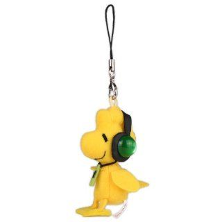 Peanuts Snoopy Music Series Cell Phone Strap (Wood Stock) Toys & Games