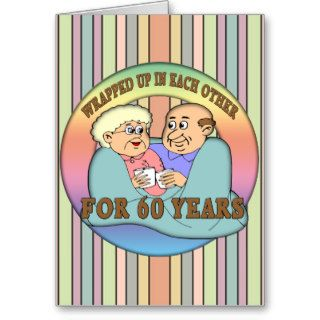 60th Wedding Anniversary Gifts Greeting Cards