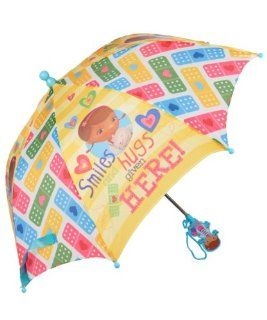 "Licensed Disney Doc McStuffins (Stuffy Dragon)� Umbrella for Kids   21""(L) (Closed) and 26"" Diameter (Open) Toys & Games"