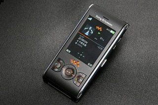 Sony ericsson W595 Lava Black Unlocked GSM Phone Cell Phones & Accessories