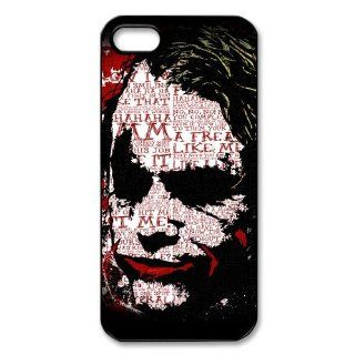 Custom Batman Joker Cover Case for IPhone 5/5s WIP 599 Cell Phones & Accessories