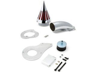 1999 & up Honda Shadow 600 Cruiser High Quality Chrome Billet Aluminum Cone Spike Air Cleaner Kit Intake Filter Motorcycle Automotive