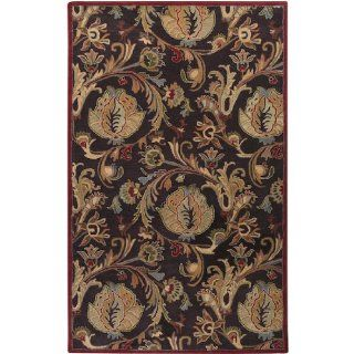 Shop 2' x 3' Primeval Forest Sienna Red and Olive Green Wool Area Throw Rug at the  Home D�cor Store