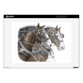 Clydesdale Draft Horse Team Laptop Skin Laptop Skin
