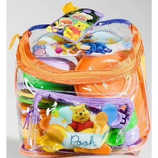 Disney Winnie the Pooh and Friends Backpack Picnic Set with Dishes Toys & Games