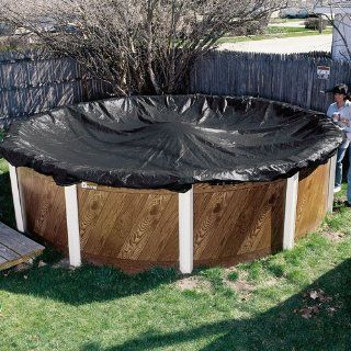12' x 18' Above Ground Mesh Oval Pool Cover 8 Year Warranty  Swimming Pool Covers  Patio, Lawn & Garden