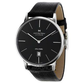 Hamilton Intra Matic Automatic Black Dial Mens Watch H38755731 at  Men's Watch store.