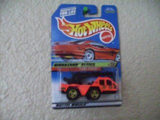 Hot Wheels 718 Flame Stopper 1998 Biohazard Series Thailand Base on Red Card Toys & Games