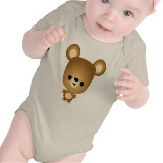 Cute Cartoon Bear Cub Baby T Shirt