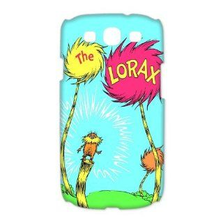 Mystic Zone The Lorax Samsung Galaxy S3 Case for Samsung Galaxy S3 Hard Cover Funny Cartoon Fits Case HH0612 Cell Phones & Accessories