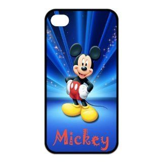 Mystic Zone Mickey Mouse iPhone 4 Cases for iPhone 4/4S Cover Cartoon Fits Case KEK1272 Cell Phones & Accessories