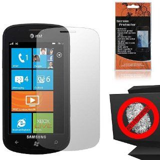 Anti Glare Screen Protector for Samsung Focus 2 SGH I667 Cell Phones & Accessories