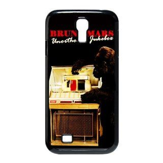 Custom Bruno Mars Cover Case for Samsung Galaxy S4 I9500 S4 675 Cell Phones & Accessories