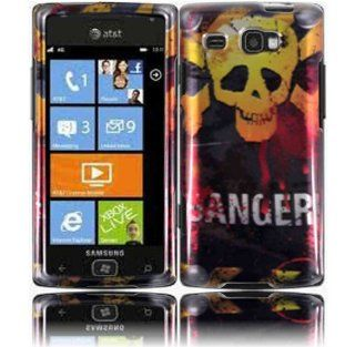 Danger Hard Case Cover for Samsung Focus Flash i677 Cell Phones & Accessories