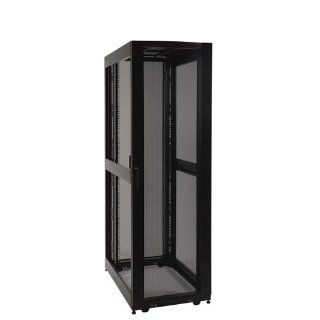 Tripp Lite SR42UBEXP 42U Rack Enclosure Server Cabinet Doors No Sides 3000lb Capacity Electronics