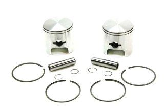SPI, 09 689, (2) SPI Piston Kits Arctic Cat El Tigre 440Z 440 Z T7 Series STD 68.00mm Automotive