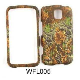 LG Optimus M MS690 Camo/Camouflage Hunter Series Hard Case/Cover/Faceplate/Snap On/Housing/Protector Cell Phones & Accessories