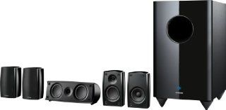 Onkyo SKS HT690 5.1 Channel Home Theater Speaker System (Black, 6) Electronics