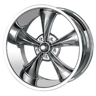 "Ridler Style 695 695 Chrome Wheel (18x8""/5x120.65mm) Automotive"