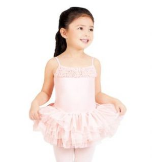 Girls Leotard with Tulle Skirt,CL7120 Clothing