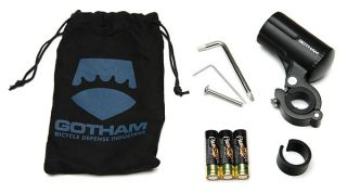 Gotham Defender Anti Theft LED Bicycle Light