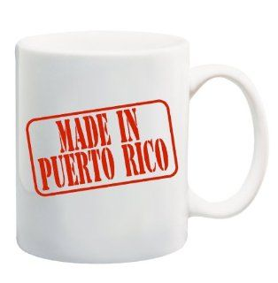 MADE IN PUERTO RICO Mug Cup   11 ounces  Puerto Rico Coffee Cup