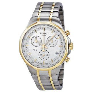 Tissot PRX Classic Chronograph Two tone Mens Watch T0774172203100 at  Men's Watch store.