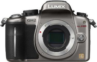 Panasonic DMC GH2 S Digital SLR GH2 camera body silver  Camera & Photo