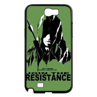 Designyourown Case Green Arrow Samsung Galaxy Note 2 Case Samsung Galaxy Note 2 N7100 Cover Case Fast Delivery SKUnote2 704 Cell Phones & Accessories