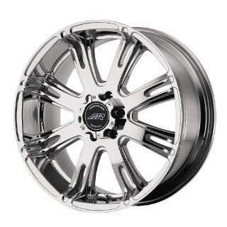 American Racing AR 708 (18 x 9, 5 x 114.3/4.5) 0 Offset, Bright PVD, (1) Wheel/Rim Automotive