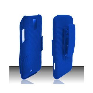 Blue Heavy Duty Holster Cover Case for Samsung Galaxy S2 S II AT&T i727 SGH I727 Skyrocket Cell Phones & Accessories