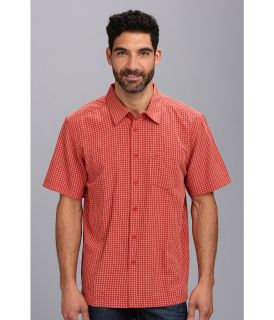 Quiksilver Waterman Pavones S/S Shirt Mens Short Sleeve Button Up (Red)