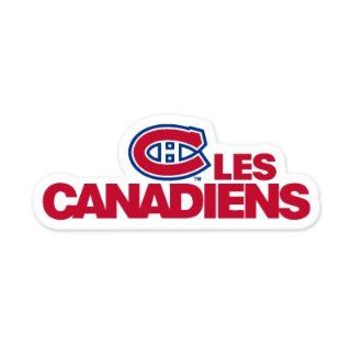 "Montreal Canadiens NHL car bumper sticker decal (7"" x 3"")  Sports Fan Bumper Stickers  Sports & Outdoors"