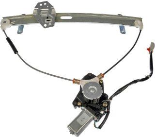 Dorman 741 300 Honda Civic Front Driver Side Power Window Regulator with Motor Automotive