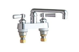 Chicago Faucets 891 CP Deck Mounted 4 Inch Centerset Faucet, Chrome   Faucet And Valve Washers