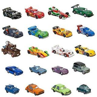 Disney / Pixar CARS 2 Movie Exclusive 20 Piece Die Cast Mega Set, 148 scale, Includes Carla Veloso, Lewis Hamilton, Tomber Rip Clutchgoneski Toys & Games