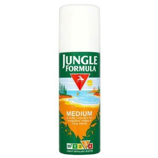 JUNGLE FORMULA Insect Repellent Factor Medium Aerosol Spray 125ml Health & Personal Care