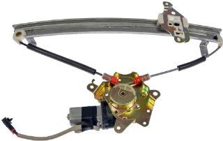 Dorman 741 777 Nissan Sentra Front Driver Side Window Regulator with Motor Automotive